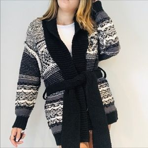 ❤️NWT Free People chunky pattern cardigan